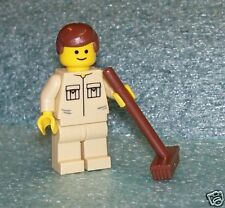 L10019    PUBLIC WORKER    LEGO minifig    ** NEW **