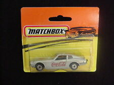 Datsun 260 Z ~ Coca Cola ~ Matchbox ~ Silver & Gray Base ~ nEw!