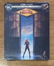 Captain Marvel 4K Steelbook - BRAND NEW FACTORY SEALED