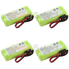4x RechargeableHome Home Phone Battery for Uniden BT-1008 BT1008 BT-1016 BT1016