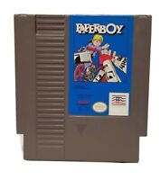 NINTENDO NES PAPERBOY VIDEO GAME CARTRIDGE *AUTHENTIC/CLEANED/TESTED*