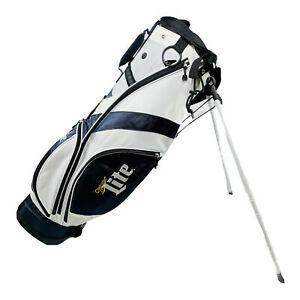 Miller Lite Golf Stand Bag DIS/VET New With Tag and Plastic Bag