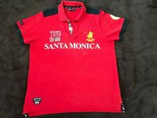 SANTA MONICA POLO CLUB shirt jersey camiseta XL