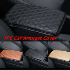 Universal Car Armrest Pad Cover Auto Center Console PU Leather Cushion 30*21cm