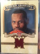 Lebron James 2012 Goodwin Champions RARE jersey swatch