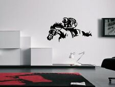Horse Racing Art Wall Decal Sticker …
