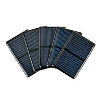 Aiyima 5Pcs 80*50mm Epoxy Solar Panel 2V 300mA Solar Cell Sun Cell DIY Charge