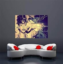 Rihanna diamonds R&B MUSICA Cantante NUOVO GIGANTE Wall Art Print PICTURE POSTER oz571