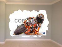 Huge Koolart Cartoon Ducati Wsb '03 James Toseland Wall Sticker Poster 1660