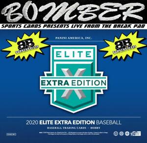 Cincinnati Reds 2020 Panini Elite Extra Edition Baseball 5 Box Break 9