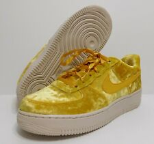 yellow velvet air force 1 womens