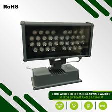 Rectangular Cool White 6000°K LED Wall Washer - AC110V - 36W - 3.280 lumens