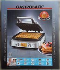 Gastroback 42421 Gourmet Waffeleisen Advanced 4S 4 Belgische Waffeln LCD