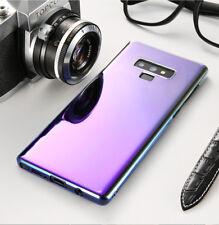 Samsung Galaxy Note 9 Farbwechsel Case Gradient Hülle Schutz Cover Transparent
