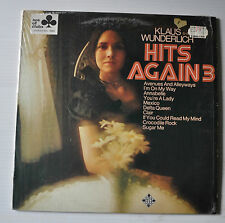 KLAUS WUNDERLICH: Hits Again 3 LP Record Sexy Cheesecake Cover