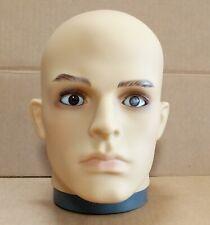 LESS THAN PERFECT #G2 FLESHTONE Plastic Male Realistic Mannequin Head Attachment