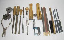 24 Teile Konvolut Goldschmiede Werkzeug