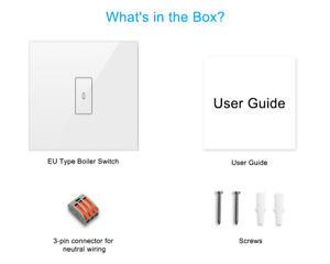 Wi-Fi Smart Boiler Switch Schalter Warmwasserbereiter