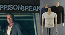 Prison Break - Lincoln Burrows/Dominic Purcell lot of 3 screen used shirts w/COA
