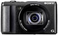 Sony DSC HX 60 V Cyber Shot Digitalkamera schwarz  NEU