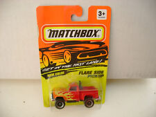 1993 MATCHBOX SUPERFAST #55 RED FORD F-150 FLARE SIDE PICKUP NEW ON CARD