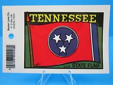 "Vintage... ""TENNESSEE STATE FLAG - NASHVILLE""  STICKER / DECAL  (NEW OLD STOCK)"