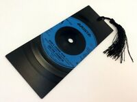 "Aretha Franklin, Who`s Zoomin Who,  7"" Vinyl Record Bookmark gift"