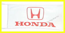HONDA AUTOS FLAG BANNER  WHITE  gold wing st1300 super hawk 5 X 2.45 FT 150 X 75