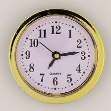 Einsteckuhrwerk ARABISCH Einsteckwerk Einbauuhr Modellbau-Uhr Ø 60 mm Nr.16