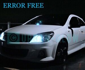 VAUXHALL ASTRA H LED XENON COOL WHITE Side Light Bulbs VXR SRi ERROR FREE