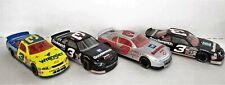 4 Dale Earnhardt Nascar Diecast Cars 1:24 Scale Excellent Condition