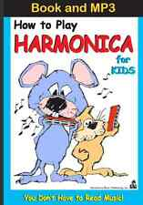 (Download Only MP3 & E-Book) For Kids Only, How to Play Harmonica Instantly