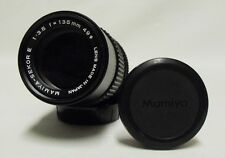 Vintage MAMIYA-Sekor E f/3.5 135mm Prime Telephoto Lens SLR Film Camera E Mount