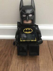 LEGO Batman DC Comics Super Heroes Movie Alarm Clock Digital Posable Minifigure