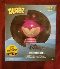 Funko Dorbz Disney Cheshire Cat Limited Edition 3500 Pieces Hot Topic Exclusive