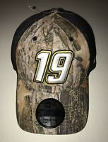 New Men's New Era Martin Truex Jr. #19 Cap Hat Kanati Camo L/XL NASCAR 39THIRTY