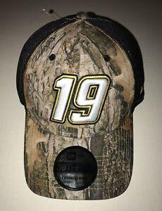 New Men's New Era Martin Truex Jr. #19 Cap Hat Kanati Camo L/XL NASCAR 39THIRTY