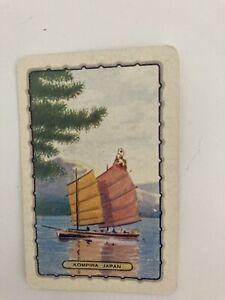 Genuine Vintage,Swap/playing card . Kompira Japan .