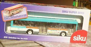 SIKU 3121 City-Bus de Voyage Bus Service 1:55 France Ratp Paris Très Bon IN Ovp