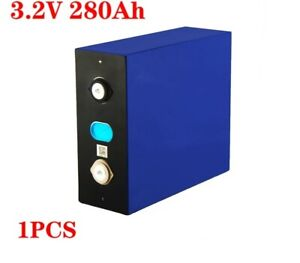 3.2V 280Ah Lifepo4 Battery Pack 12V 24V Rechargeable Electric RV Solar Energy