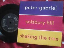 Peter Gabriel Solsbury Hill / Shaking The Tree Virgin 1322 UK 7inch Vinyl Single
