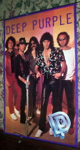 DEEP PURPLE Vintage 80s Group POSTER