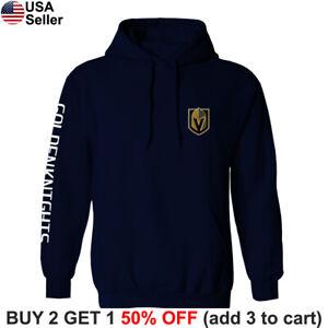Las Vegas Golden Knights Hooded Sweatshirt Sweater Shirt Hoodie LVGK VGK Chest
