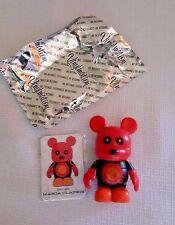 "Disney Vinylmation~Urban Series 5~Red Gears Bear Mickey~Disneyland~ 3"" Figurine~"