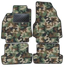 Armee-Tarnungs Autoteppich Autofußmatten Auto-Matten Renault Megane II CC 03-09