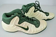2002 Nike Air Pureposite TB Foamposite Green Ivory Pearl 304790-131 Size 14