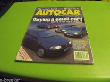 September Autocar Cars, 1990s Transportation Magazines