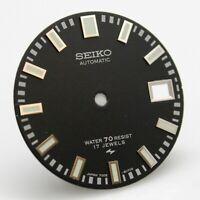 Resist Black Dial for Seiko Diver 7005 8052 Poor Man's 62MAS 70 meter 17j Green
