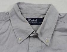 a9ea772a317fa1 Unifarbene klassische Ralph Lauren Herrenhemden mit Kombimanschette ...
