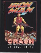 Marvel Comics Iron Man Crash Graphic Novel Soft Cover 1988